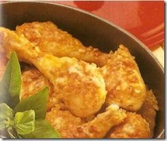 Pollo con costra de almendras receta cocina muy facil - Pollo con almendras facil ...