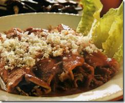 Enchiladas Rojas Mexicanas. Receta