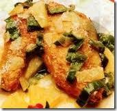 Pollo en piña. Receta de Navidad   cocinamuyfacil.com