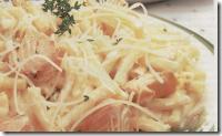 Macarrones con Salmón. Receta de Navidad | cocinamuyfacil.com