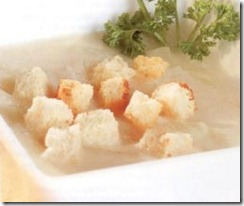 Sopa de Cebolla al Vino Blanco. Receta para Navidad | cocinamuyfacil.com