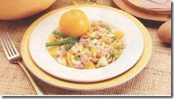 Ensalada de melocotón. Receta | cocinamuyfacil.com