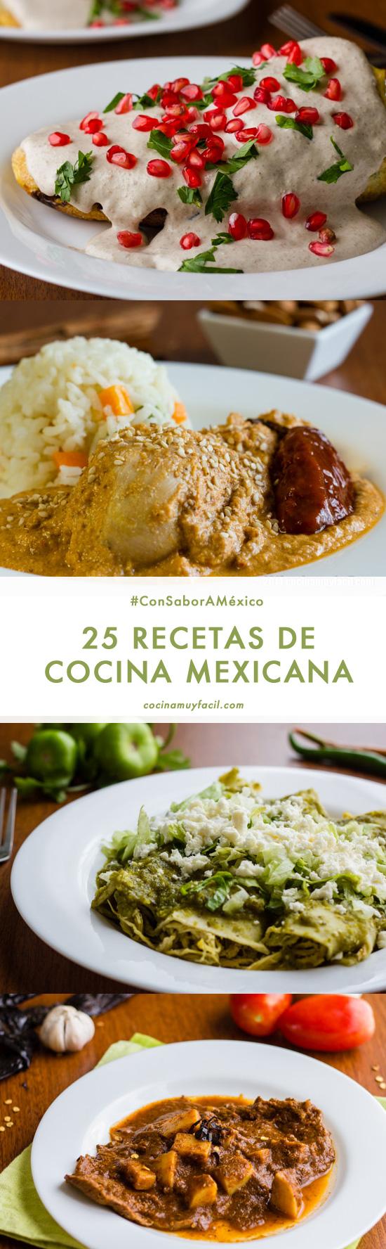 25 recetas de cocina tradicional mexicana, ¡porque tenemos mucho que celebrar!