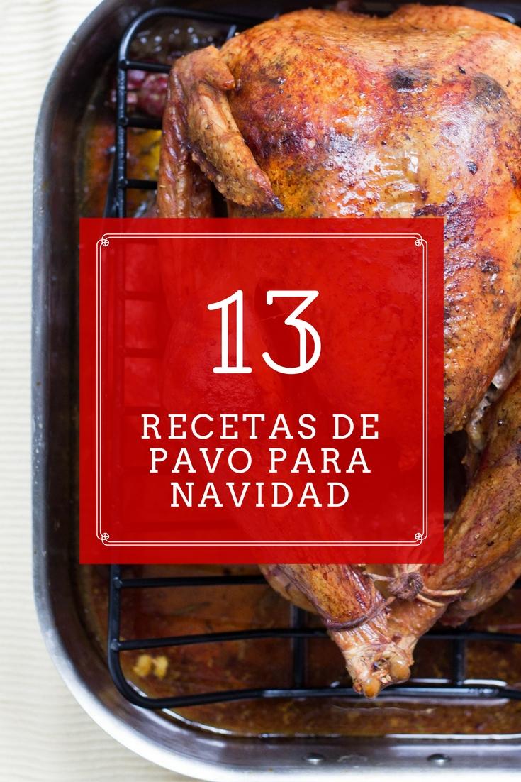 13 increíbles recetas de pavo para Navidad y Año Nuevo | cocinamuyfacil.com