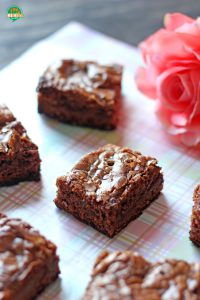 Brownies de Nutella. Receta para San Valentín | cocinamuyfacil.com