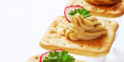 Bocadillo para el trabajo: Galletas saladas ligeras