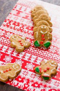 Galletas de jengibre. Receta para Navidad | cocinamuyfacil.com