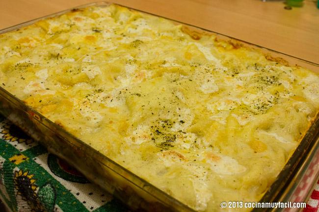 lasaña de carne a la bolognesa | cocinamuyfacil.com