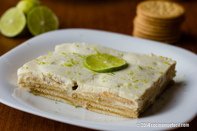 pie de limon frio