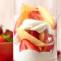 Postre helado de Nectarinas y Fresas. Receta