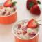 Quinoa con fresas con crema. Receta | cocinamuyfacil.com