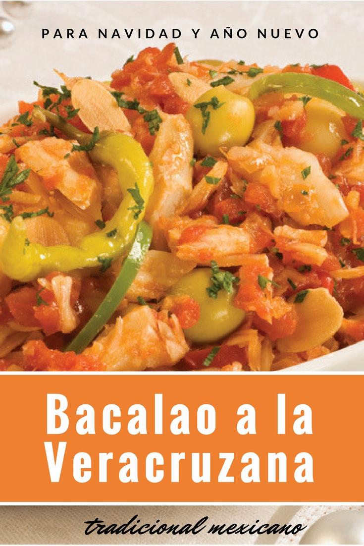 Bacalao Tradicional Mexicano Receta De Navidad Y Ano Nuevo Cocina - Recetas-comidas-para-navidad